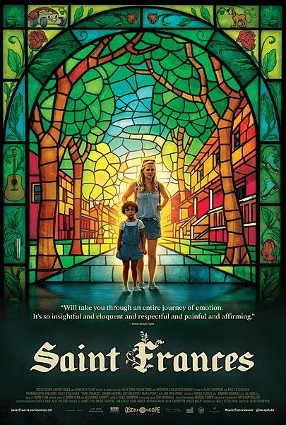 "Movie poster for ""SAINT FRANCES"""