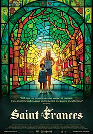 "Movie poster for ""SAINT FRANCES"""