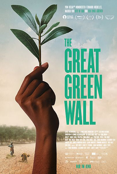"Movie poster for ""THE GREAT GREEN WALL"""