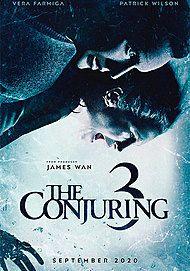 """Movie poster for """"THE CONJURING: PER ORDINE DEL DIAVOLO"""""""