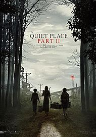 "Movie poster for ""A QUIET PLACE 2"""