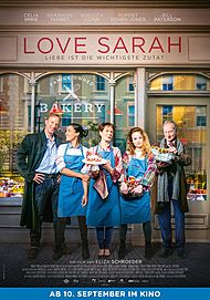 """Filmplakat für """"LOVE SARAH - LIEBE IST DIE WICHTIGSTE ZUTAT"""""""