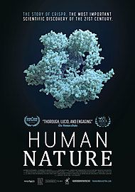 "Movie poster for ""HUMAN NATURE"""