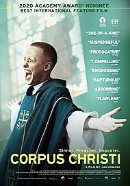 "Movie poster for ""CORPUS CHRISTI"""