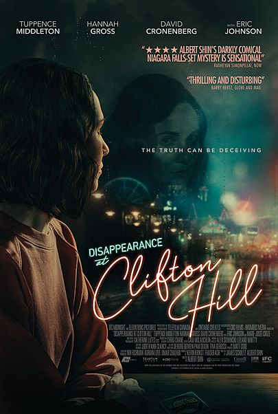 "Movie poster for ""DISAPPEARANCE AT CLIFTON HILL"""