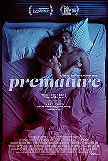 "Movie poster for ""PREMATURE"""