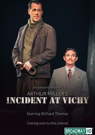 "Movie poster for ""INCIDENT AT VICHY (BroadwayHD)"""