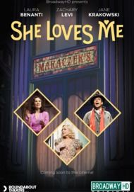 "Movie poster for ""SHE LOVES ME (BroadwayHD)"""