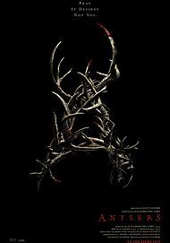 "Movie poster for ""ANTLERS"""