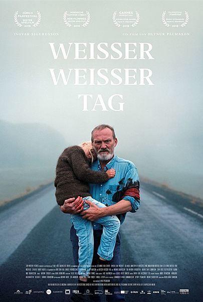 """Filmplakat für """"WEISSER WEISSER TAG"""""""