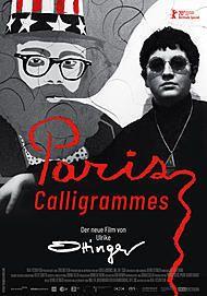 """Filmplakat für """"PARIS CALLIGRAMMES"""""""