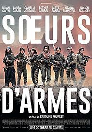 "Movie poster for ""SISITERS IN ARMS"""