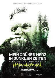 """Filmplakat für """"MEIN GRÜNES HERZ IN DUNKLEN ZEITEN"""""""