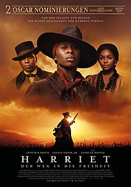 "Movie poster for ""HARRIET"""