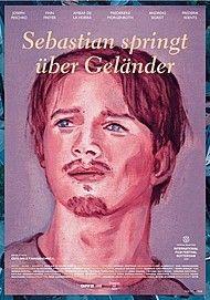 """Filmplakat für """"SEBASTIAN SPRINGT ÜBER GELÄNDER"""""""