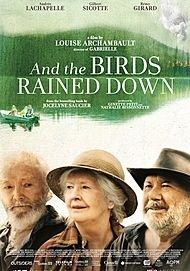 "Movie poster for ""AND THE BIRDS RAINED DOWN"""
