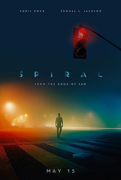 """Movie poster for """"SPIRAL: FROM THE BOOK OF SAW"""""""
