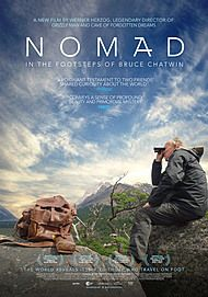 "Movie poster for ""NOMAD: IN THE FOOTSTEPS OF BRUCE CHATWIN"""