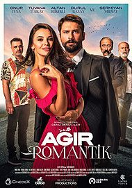 "Movie poster for ""AGIR ROMANTIK"""