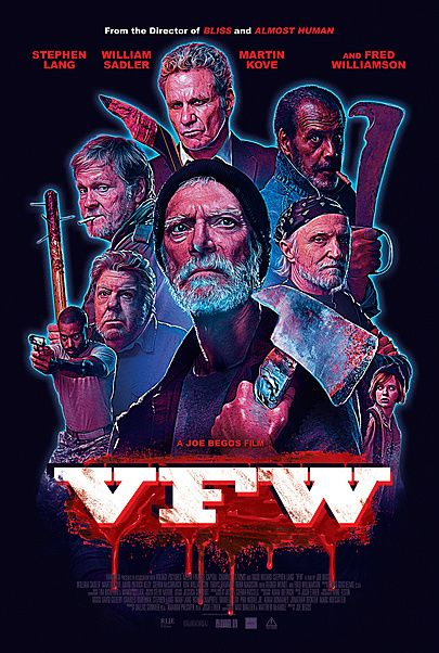 """Movie poster for """"VFW"""""""