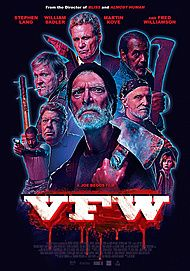 "Movie poster for ""VFW"""