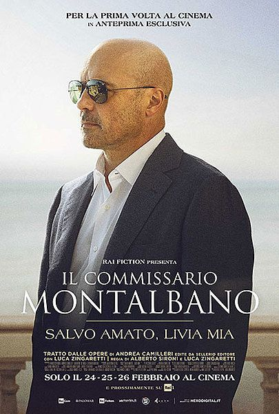 "Movie poster for ""IL COMMISSARIO MONTALBANO - SALVO AMATO, LIVIA MIA"""