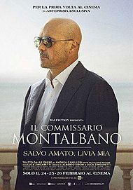 "Movie poster for ""IL COMMISSARIO MONTALBANO - SALVO AMATO, LIVIA MIA"""