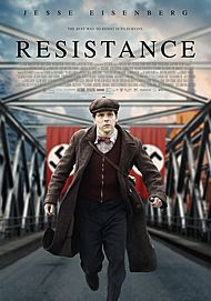 "Movie poster for ""RESISTANCE"""