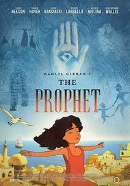 "Movie poster for ""KAHILL GIBRAN'S THE PROPHET"""