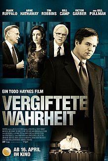 """Filmplakat für """"VERGIFTETE WAHRHEIT"""""""