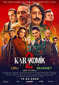 "Movie poster for ""KARAKOMIK FILMLER 2"""