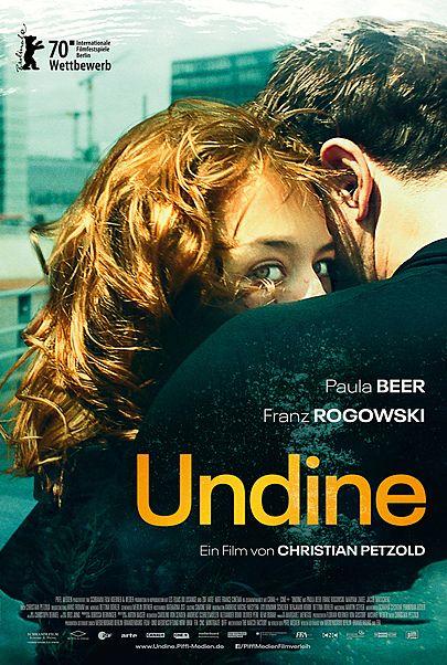 """Filmplakat für """"UNDINE"""""""
