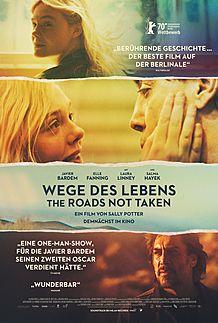 """Filmplakat für """"WEGE DES LEBENS - THE ROADS NOT TAKEN"""""""