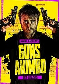 "Movie poster for ""GUNS AKIMBO"""