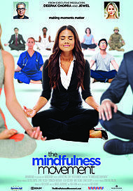 "Movie poster for ""THE MINDFULNESS MOVEMENT"""