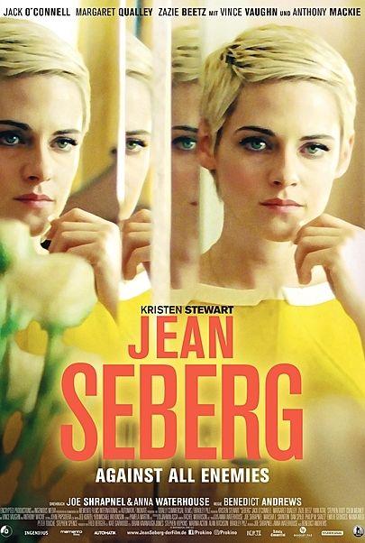 """Filmplakat für """"JEAN SEBERG - AGAINST ALL ENEMIES"""""""