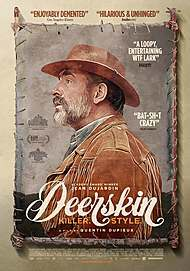"Movie poster for ""DEERSKIN"""