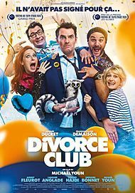 "Movie poster for ""DIVORCE CLUB"""