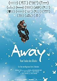 "Movie poster for ""AWAY"""