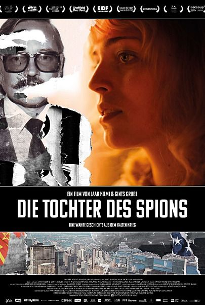 """Filmplakat für """"DIE TOCHTER DES SPIONS"""""""