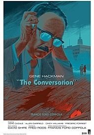 "Movie poster for ""THE CONVERSATION"""