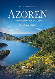 """Filmplakat für """"AZOREN – SEHNSUCHTSINSELN FÜR ENTDECKER"""""""