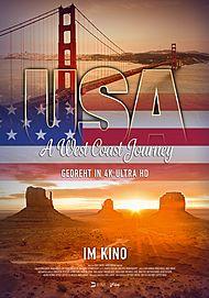 """Filmplakat für """"USA – A WEST COAST JOURNEY"""""""