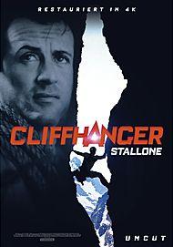 """Filmplakat für """" CLIFFHANGER"""""""