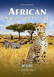 "Filmplakat für ""AFRICAN SAFARI ADVENTURE"""