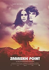 "Movie poster for ""ZABRISKIE POINT"""