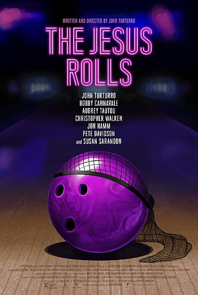 "Movie poster for ""THE JESUS ROLLS"""
