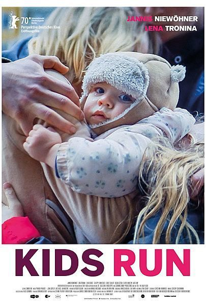 "Movie poster for ""KIDS RUN"""