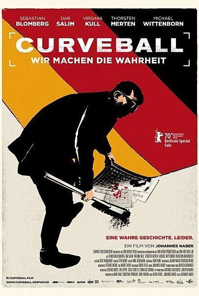 """Filmplakat für """"CURVEBALL"""""""