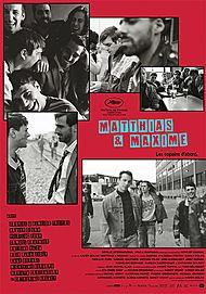 """Movie poster for """"MATTHIAS & MAXIME"""""""